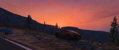 Grand Theft Auto V, Sunset, Landscape HD Wallpapers
