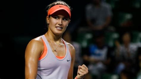 Eugenie Bouchard named top Canadian female tennis player