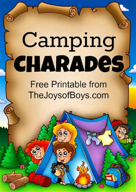 Night Camping Activities for Boys - The Joys of Boys