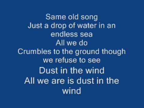 Dust in the Wind by Kansas - Guitar/Vocals Guitar Pro Tab