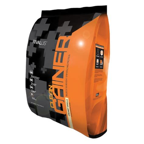 Rivalus Clean Gainer, 10lbs | Protein Mass Gainer