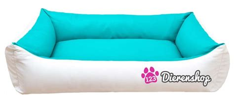 Hondenmand Florance Turquoise Wit 115cm - 123Hondenmand
