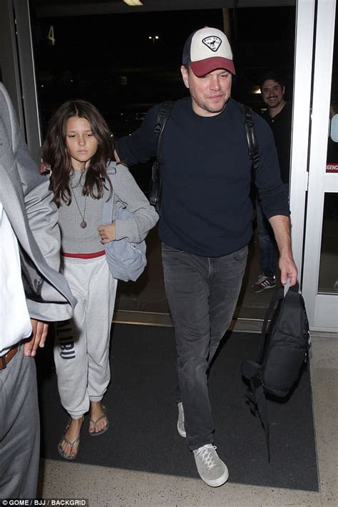 Matt Damon keeps it casual as he jets out of LAX | Daily