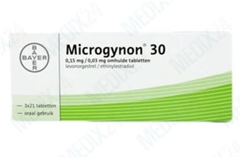 Microgynon 30 and 30 ED - Contraceptive pill - Buy online
