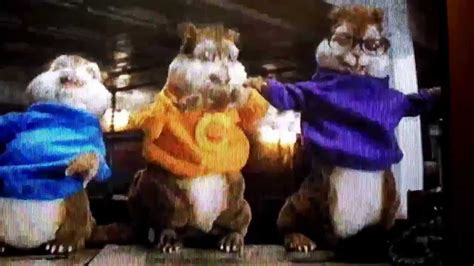 The Chipmunks in disaster movie funny part of it - YouTube