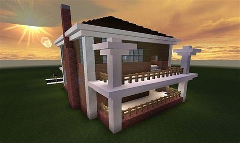 Minecraft Huis - Country House 461 - Including Map