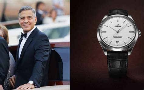 George Clooney Wears Omega On Wedding Day