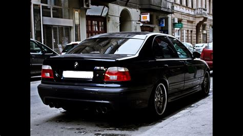 Best BMW M5 E39 exhaust sounds - YouTube