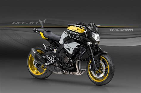 Yamaha MT-10 in Valentino Rossi Livery and More from AD