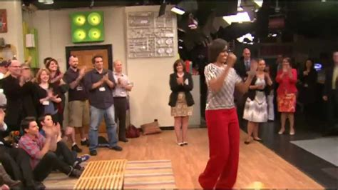 Michelle Obama dances on iCarly - YouTube