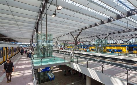 Rotterdam Central Station by MVSA   A As Architecture