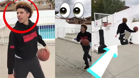 Lamelo Ball And Lonzo Ball Dunking Like Zion Williamson