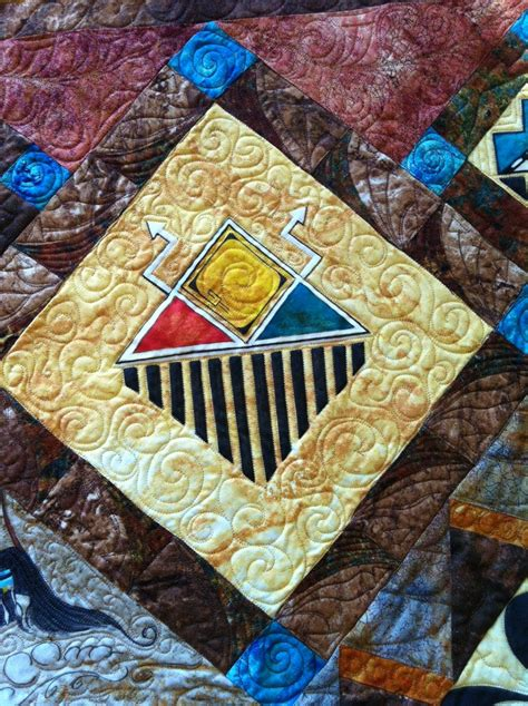 Inspired by Fabric: ''Tavupo,'' the Hopi Opportunity Quilt