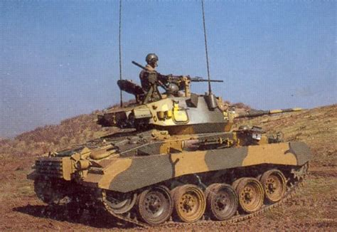 Chilean M24 Chaffee armed with a IMI-OTO 60 mm Hyper