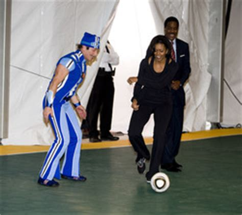 LazyTown Sportacus and Michelle Obama moves Washington DC