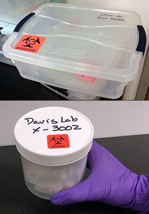 Transporting Biological Research Materials on Campus