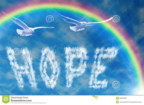 Word Hope In The Sky, Under The Rainbow