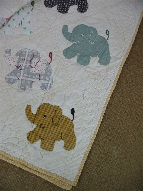 Image result for Elephant Baby Quilt Patterns Free