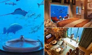 Inside Dubai's underwater suites that come with views into