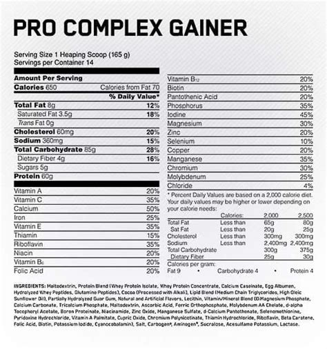 Pro Complex Gainer Review | #6 Ranked Gainer