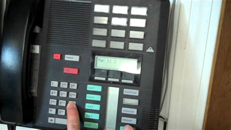 Norstar phone locked up or won't dial - YouTube