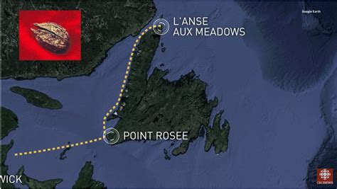 Point Rosee Vikings Norse settlement sites North American