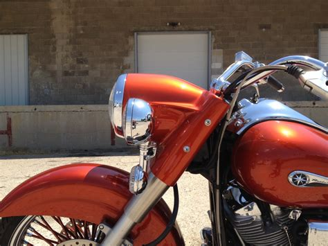 Road Star Stretched Headlight Nacelle | Bad Dad | Custom