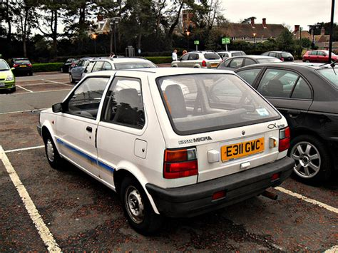1988 Nissan Micra Photos, Informations, Articles