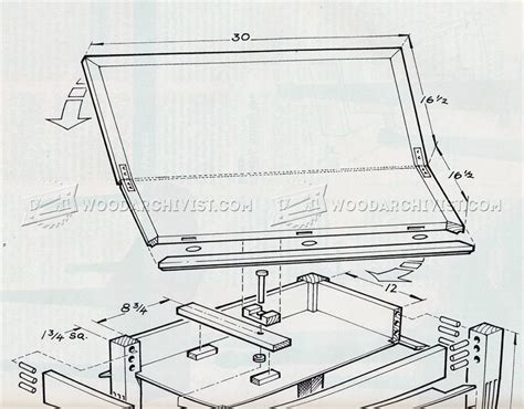Gaming Table Plans • WoodArchivist