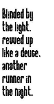 Blinded By The Light Lyrics Meaning Manfred Mann - HOME DECOR