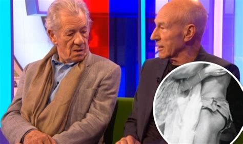 The One Show: Sir Ian McKellen in awe of Sir Patrick