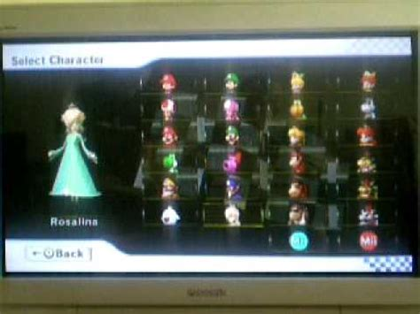 Mario Kart Wii: How to unlock all characters ( Including