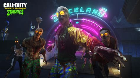 Call of Duty Infinite Warfare Zombies Spaceland Wallpapers