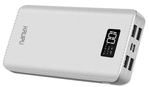 6 High-capacity Power Banks that are Great for the