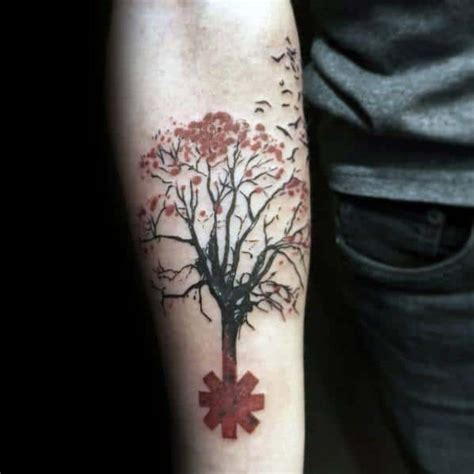 70 Red Hot Chili Peppers Tattoo Ideas For Men - Music Band