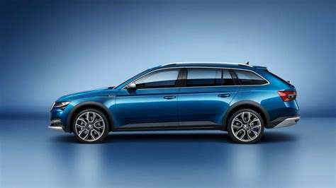 2020 Skoda Superb Scout Revealed, Being Pitched As An SUV