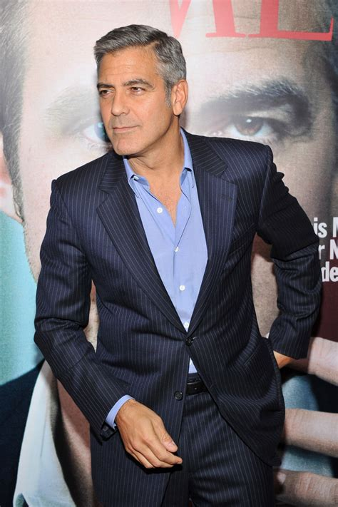 """George Clooney Photos - """"The Ides Of March"""" New York"""