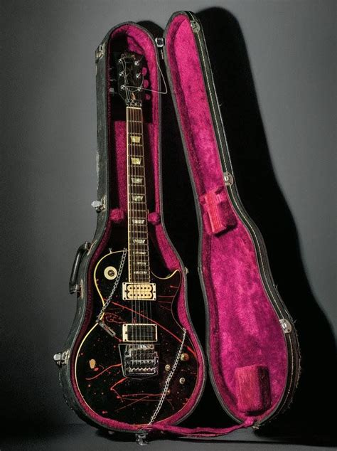 Jeff Hanneman's heavily modded Gibson Les Paul with the