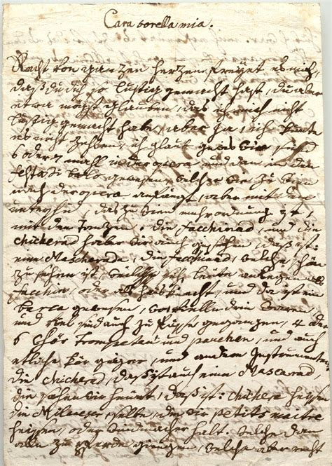 Mozart letters | Library of Congress
