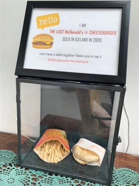 The Last McDonald's Burger In Iceland Just Completed 10