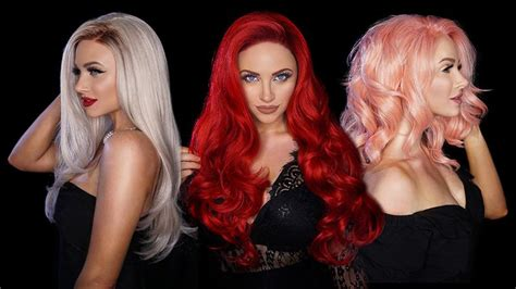GLAM & GORE SYNTHETIC WIGS – BELLAMI HAIR EUROPE