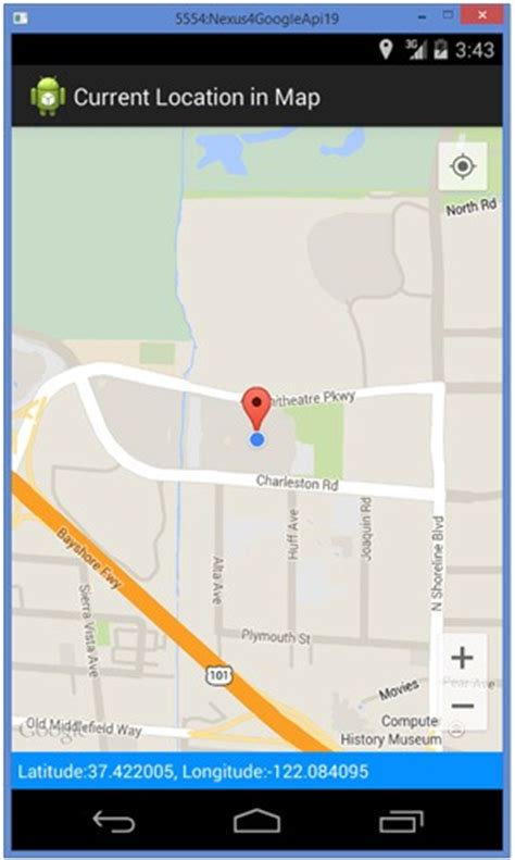 Android Show Current Location on Map using Google Maps API