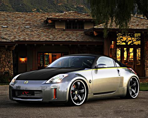 Free Cars HD Wallpapers: Nissan 350Z Tuning HD Wallpapers