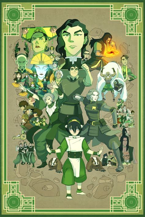 These Four Fan Posters For AVATAR: THE LAST AIRBENDER Have