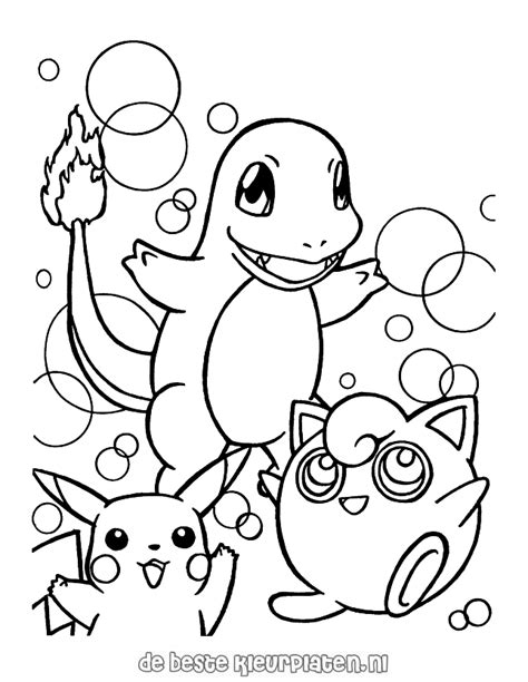 Pokemon0009 - Printable coloring pages