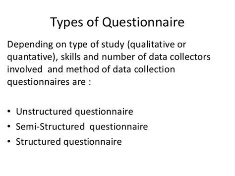 Designing research questionnaire
