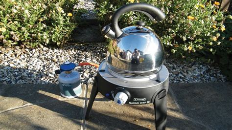Cadac Safari Chef 2 - How not to boil a kettle! - YouTube