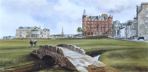 Old Course St Andrews - Print 8 x 16 inches