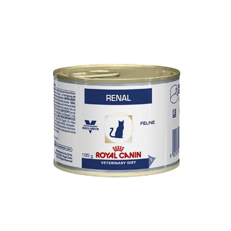 Royal Canin Veterinary Diet Renal boîte pour chat - 195 g