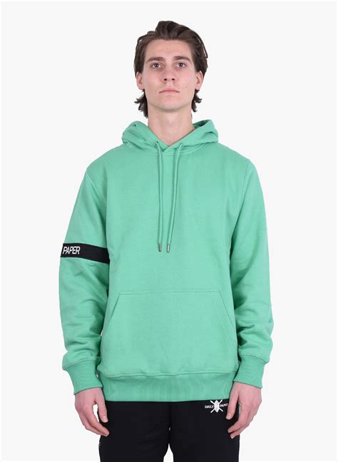 Daily Paper 'Captain' Hoodie Ming Green SS20 - Mensquare